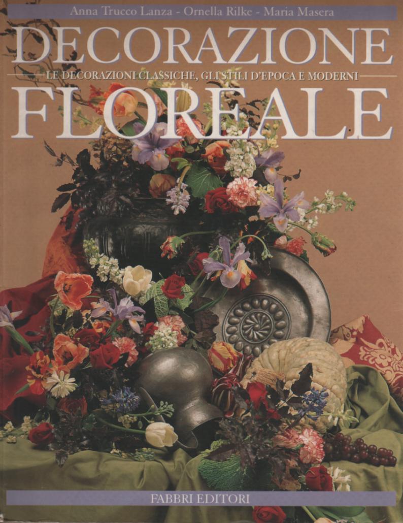 Pubblicazioni siaf scuola italiana arte floreale for Decorazione floreale